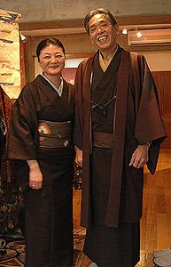 小塩さんとスタッフ斎藤