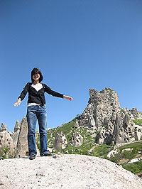 ギョレメの奇岩