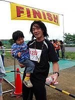 20km参加の菊池(暁)