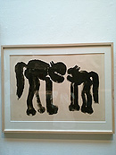 愛らしい猫達、猪熊弦一郎現代美術館