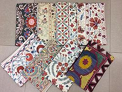 ウズベキスタン、スザニ刺繍の帯