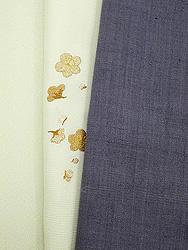 灯屋オリジナル梅刺繍半衿