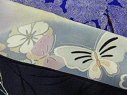 蝶の帯揚げ