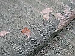 桜と楓文様小紋