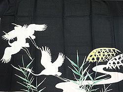 白鷺の絽黒留袖