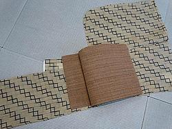 芭蕉布着物にシナ布名古屋帯