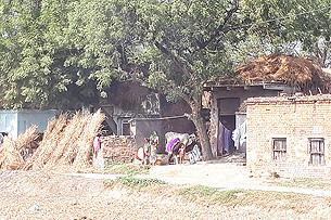 サリー織りの屋敷