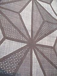 変り織麻の葉模様宮古上布