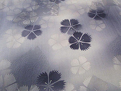 紫撫子の単衣