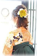 卒業式袴 ヘアスタイル
