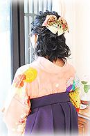 卒業式袴 髪型