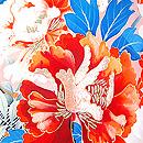 絢爛春の花籠文様振袖
