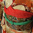 宝舟に松の図振袖