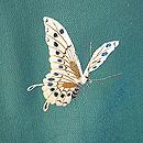 蝶々に菊あやめの図刺繍振袖