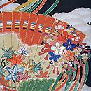 古典檜扇文様刺繍振袖
