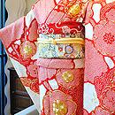 総絞り梅花刺繍振袖