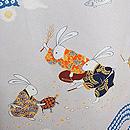 うさぎ浦島太郎の図振袖