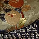 梅に橘刺繍羽織