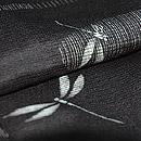 流水に蜻蛉文様絽羽織