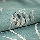 熱帯魚の図紗訪問着