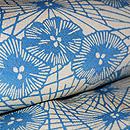 松原与七作 中型藍染め梅松文様 質感・風合