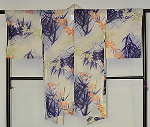 萩の単衣羽織