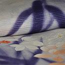 萩の単衣羽織 質感・風合