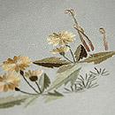 早春の図刺繍名古屋帯