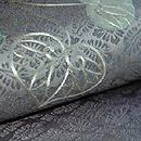 綾紋織葵の図名古屋帯 質感・風合