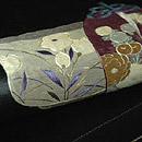 茶道具刺繍名古屋帯 質感・風合
