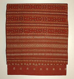 インドネシア モール織名古屋帯