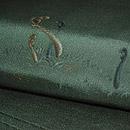 蕨柄刺繍名古屋帯 質感・風合