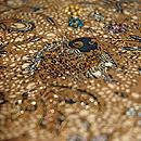 バティックビーズ刺繍名古屋帯
