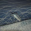 虫の刺繍名古屋帯 質感・風合