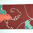 ぶどうの図絽名古屋帯 前中心
