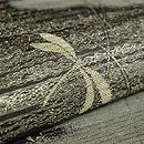 柳にとんぼ絽袋帯 質感・風合