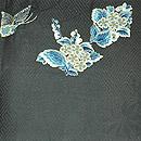 蝶の刺繍開き名古屋帯 前中心