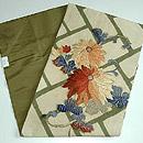 菊の刺繍名古屋帯 帯裏