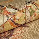 南蛮船刺繍丸帯 質感・風合