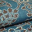 藍型染め名古屋帯 質感・風合