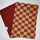 市松柄袋帯 帯裏
