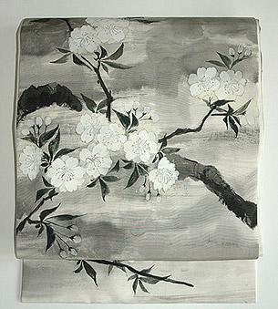 桜染名古屋帯