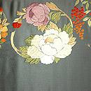 花丸模様刺繍開名古屋帯 前中心