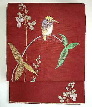 龍村平蔵製「ひすい」袋帯