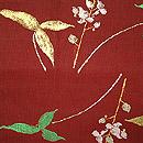 龍村平蔵製「ひすい」袋帯 前中心