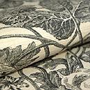 イギリス木綿染名古屋帯 質感・風合