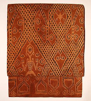 カリマンタン イバン族の絣帯