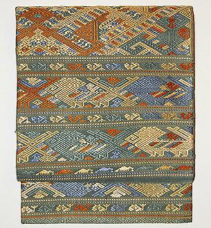 ラオス紋織り名古屋帯