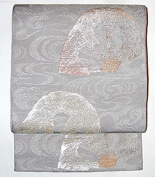 龍村平蔵製「栄翠車」袋帯