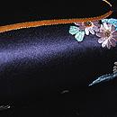 「花見の図」名古屋帯 質感・風合
